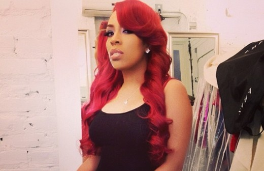 K Michelle From Love And Hip Hop Causes A Riot In Nyc Qui Tv
